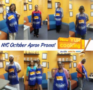 Now Yuh Cooking Apron Giveaway