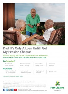 First Citizens Retirement Press Ad