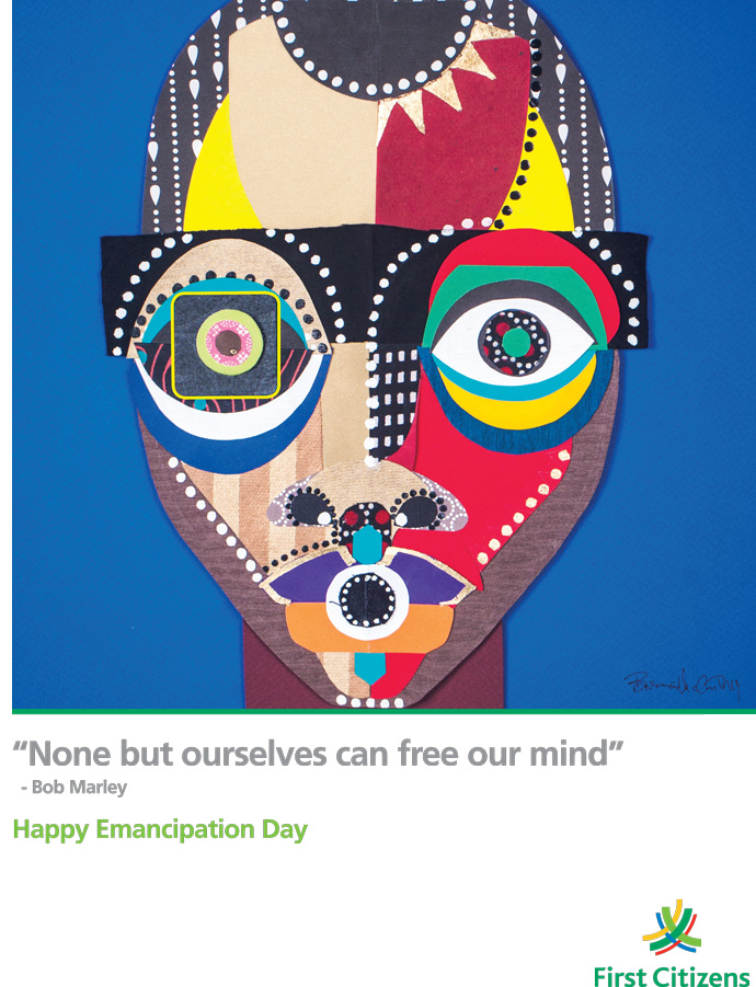 Emancipation Day Greeting Ad