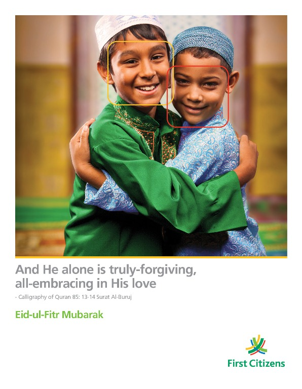 Eid Greeting Ad