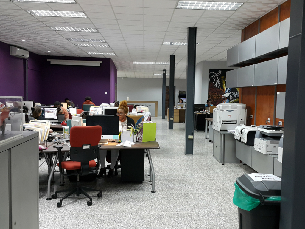 cmb's new office digs at Central Warehousing Complex