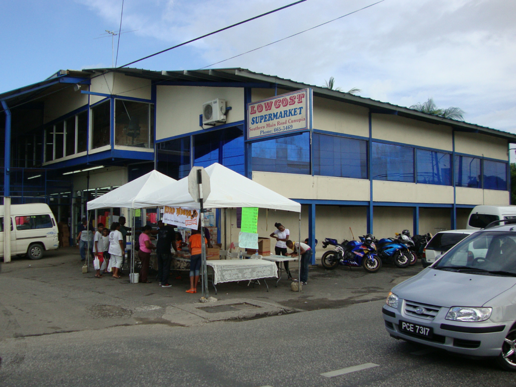 Low Cost Supermarket, Southern Main Road, Cunupia. Image Source: Mapio