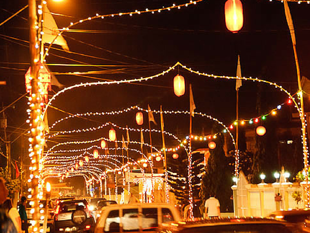 Felicity Village during Divali. Image Source: Spice Necklace